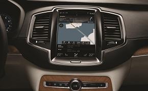Volvo XC90 lcd zaslon