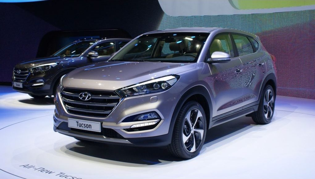 novi Hyundai Tucson 2015