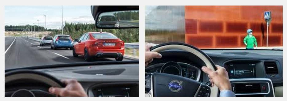 Vovlo testira sve situacije u prometu