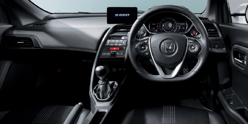 Honda S660 interijer
