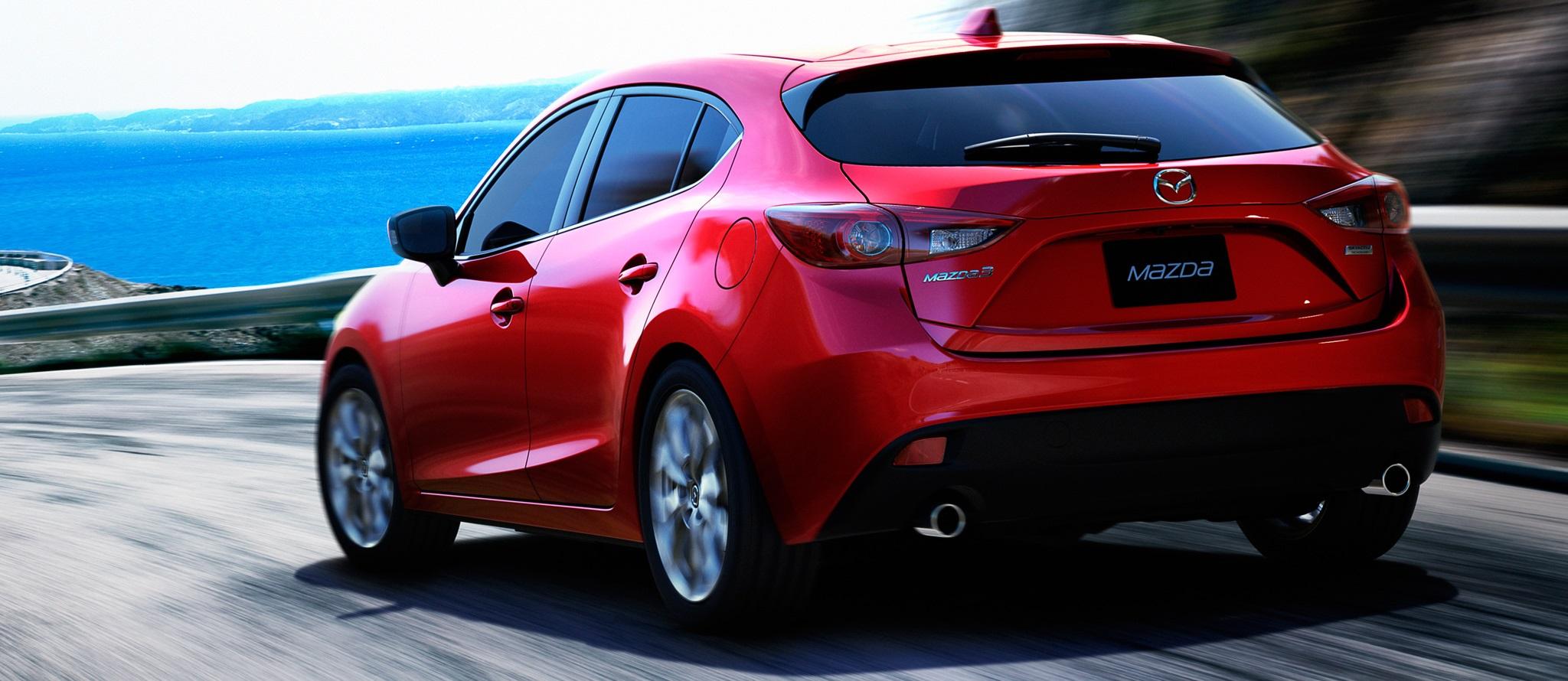 Mazda 3 2014 straga