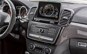 Mercedes Benz GLE 2015 interijer