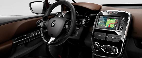 Renault Clio 4 - interijer