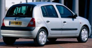 Renault Clio II - iza
