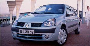 Renault Clio II - naprijed