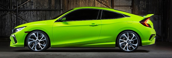 Honda Civic Koncept 2016 iz profila