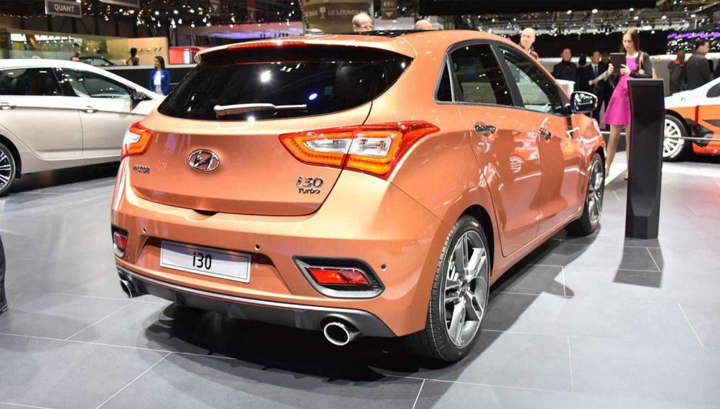 Hyundai i30 turbo 2016