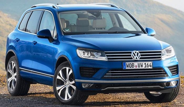 VW Tpuareg 2015