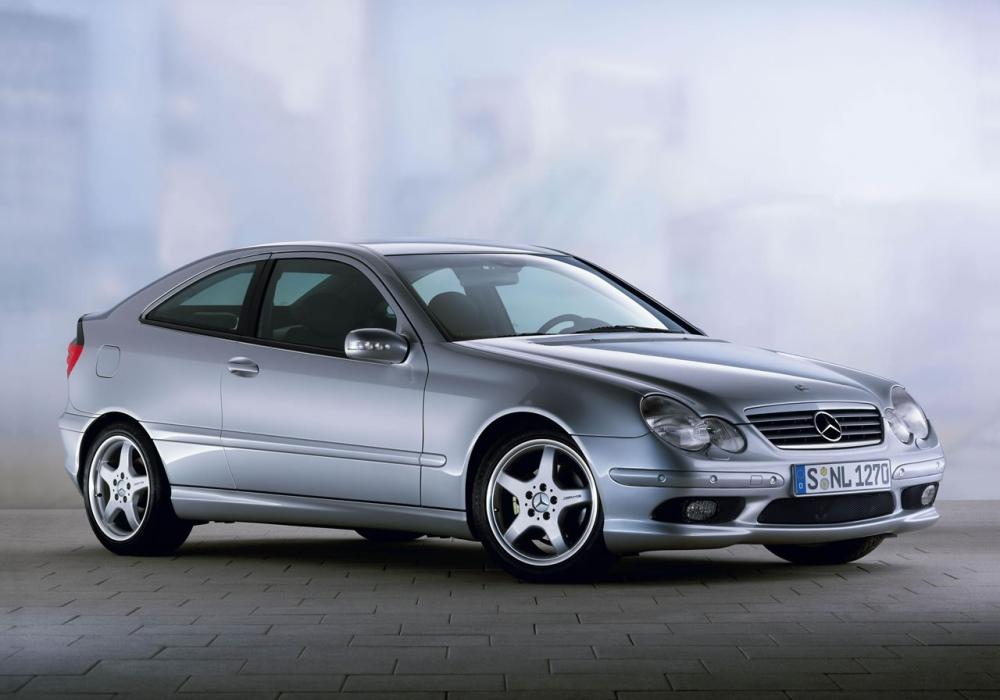 mercedes c klasa coupe