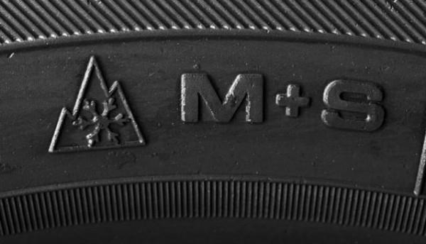 m+s oznaka na gumi