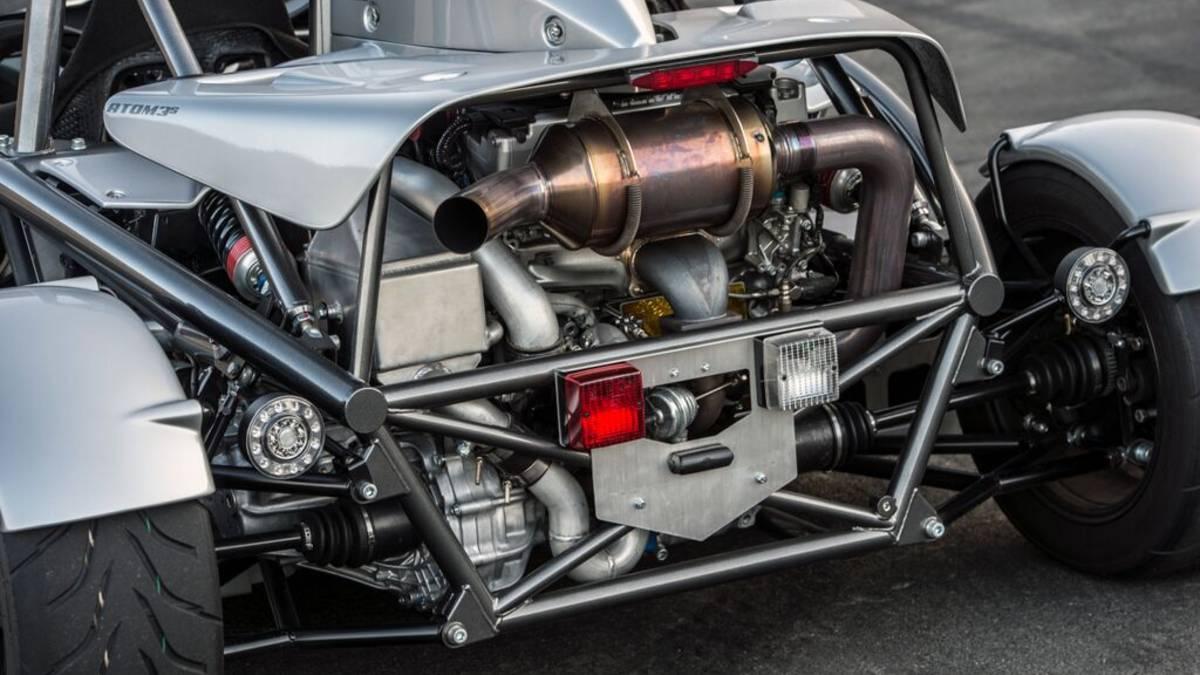 Novi Ariel Atom 3S motor