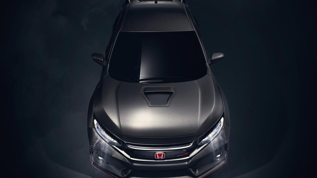 novi civic type r 2017 hr