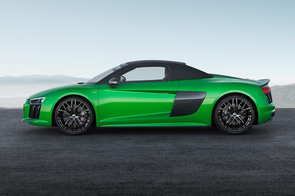 Novi Audi R8 Spyder Plus 2017 hr