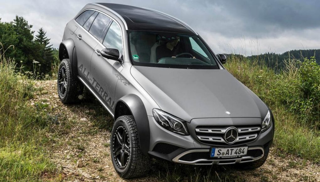 Mercedes E klasa All Terrain 4x4²
