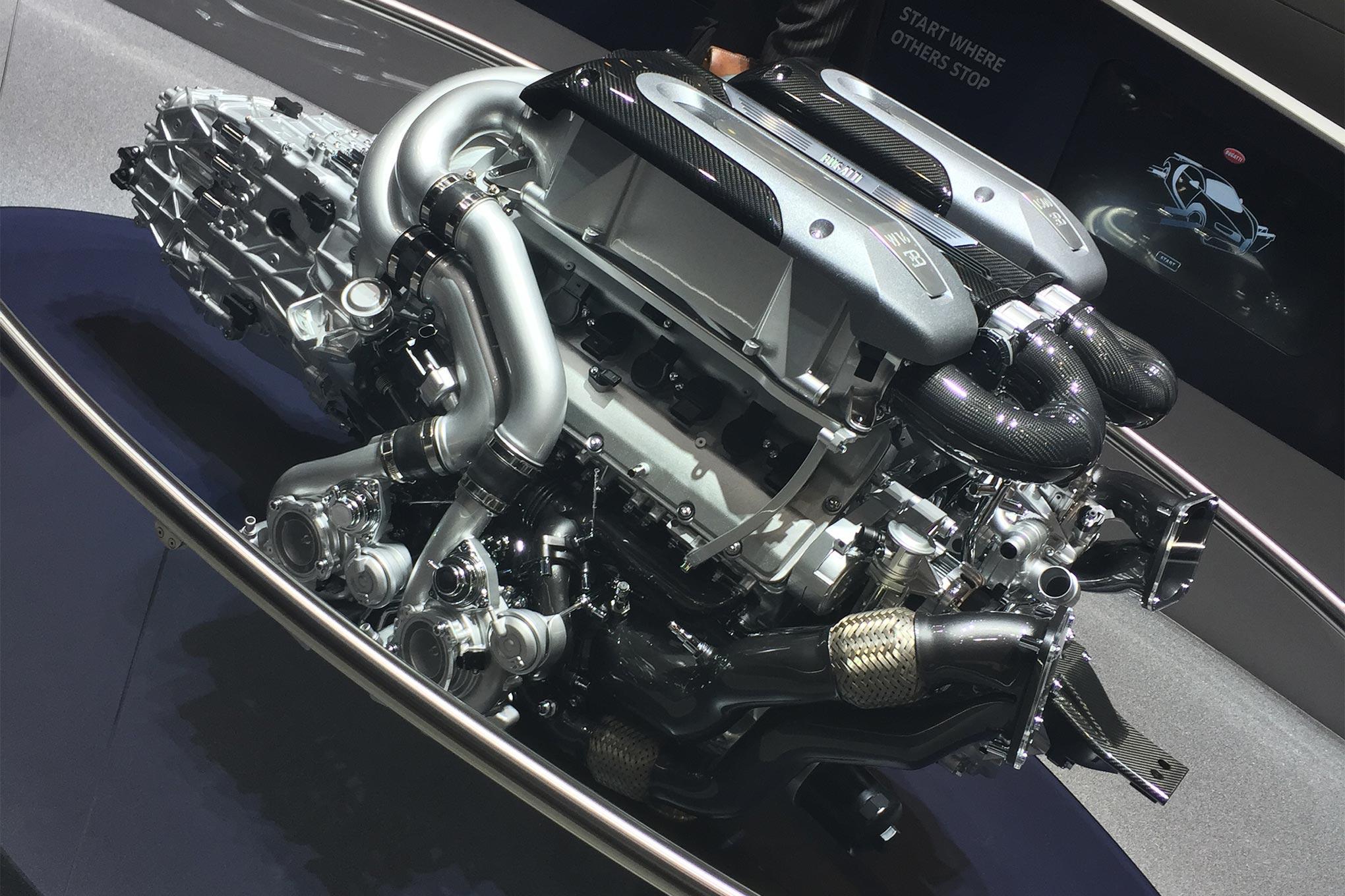 bugatti motor