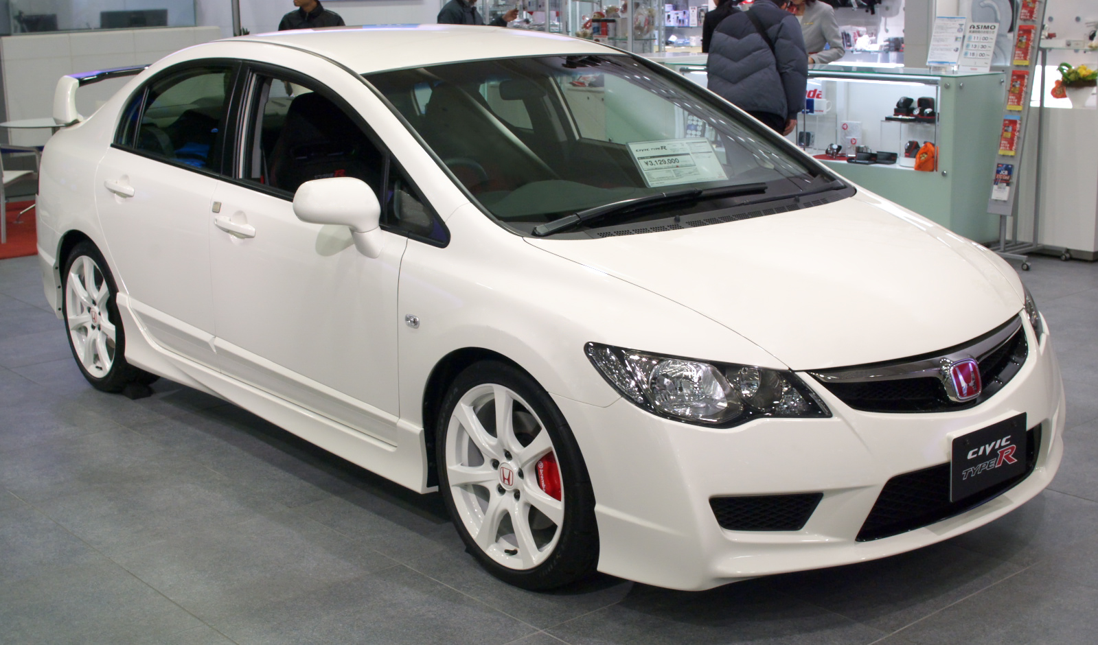 civic type r ubrzanje