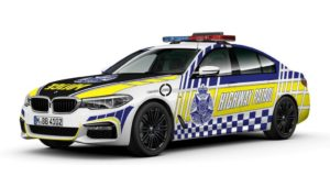 bmw 530d australska policija