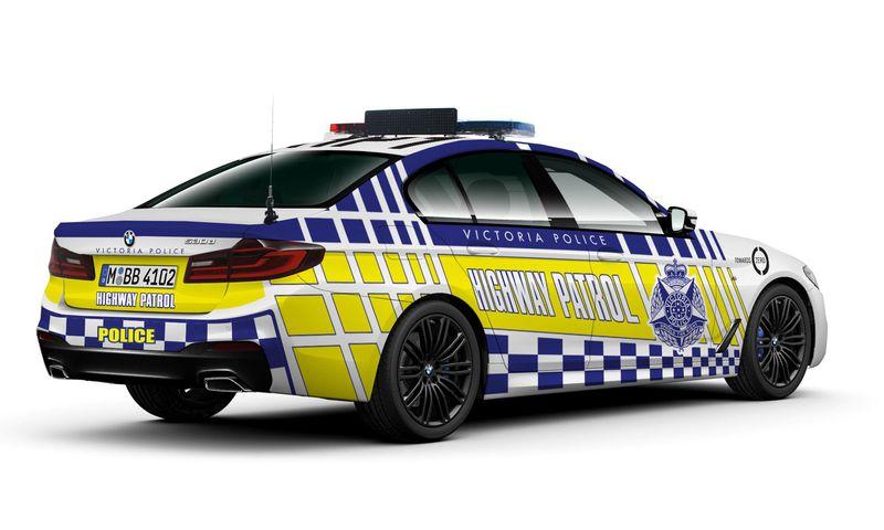 bmw serije 5 australska policija