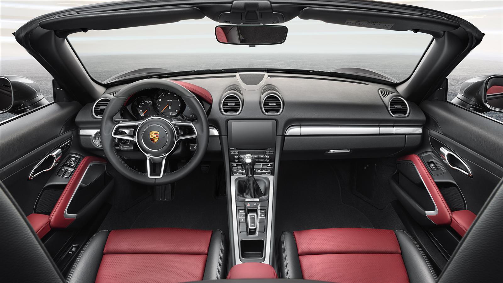 Novi Porsche Boxster 2017