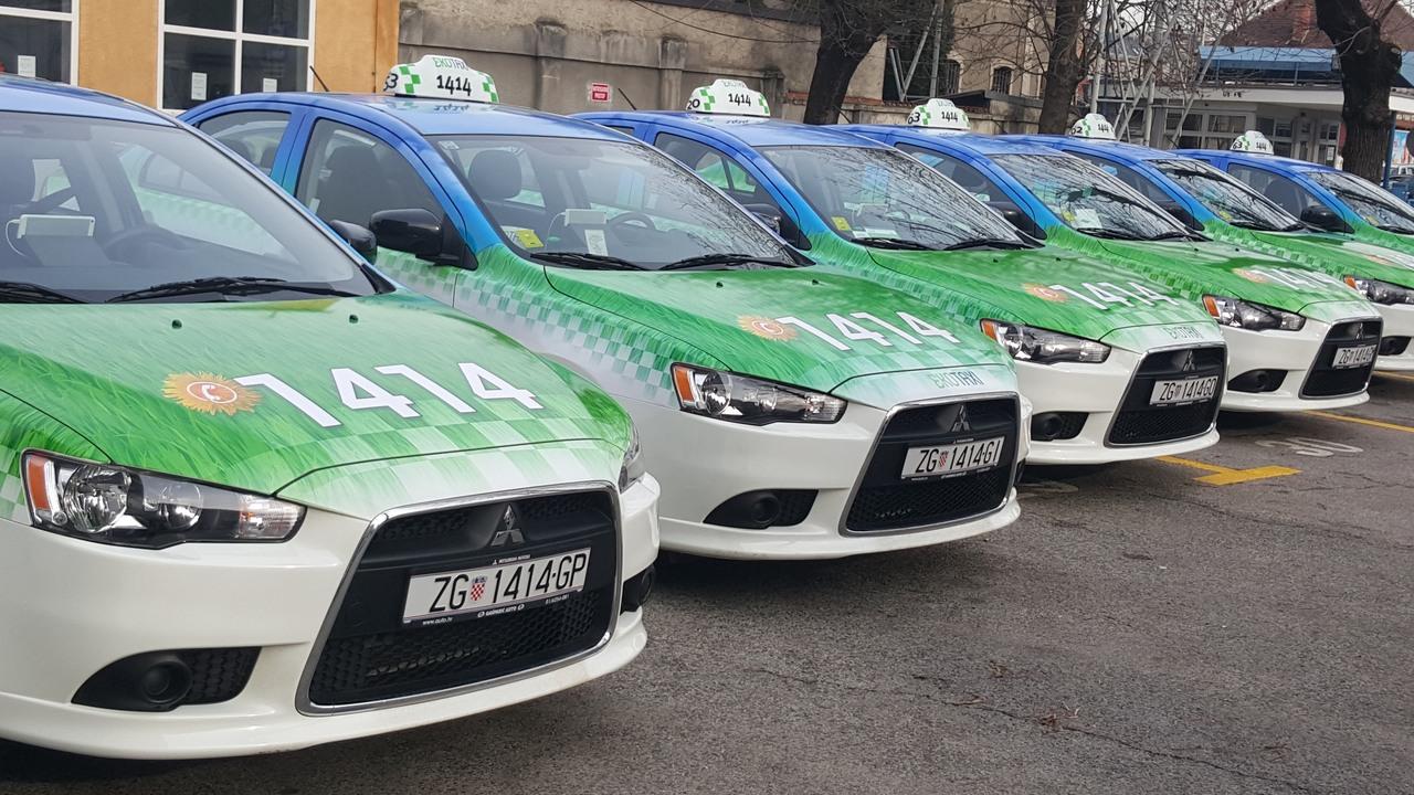 taxi u zagrebu cijene