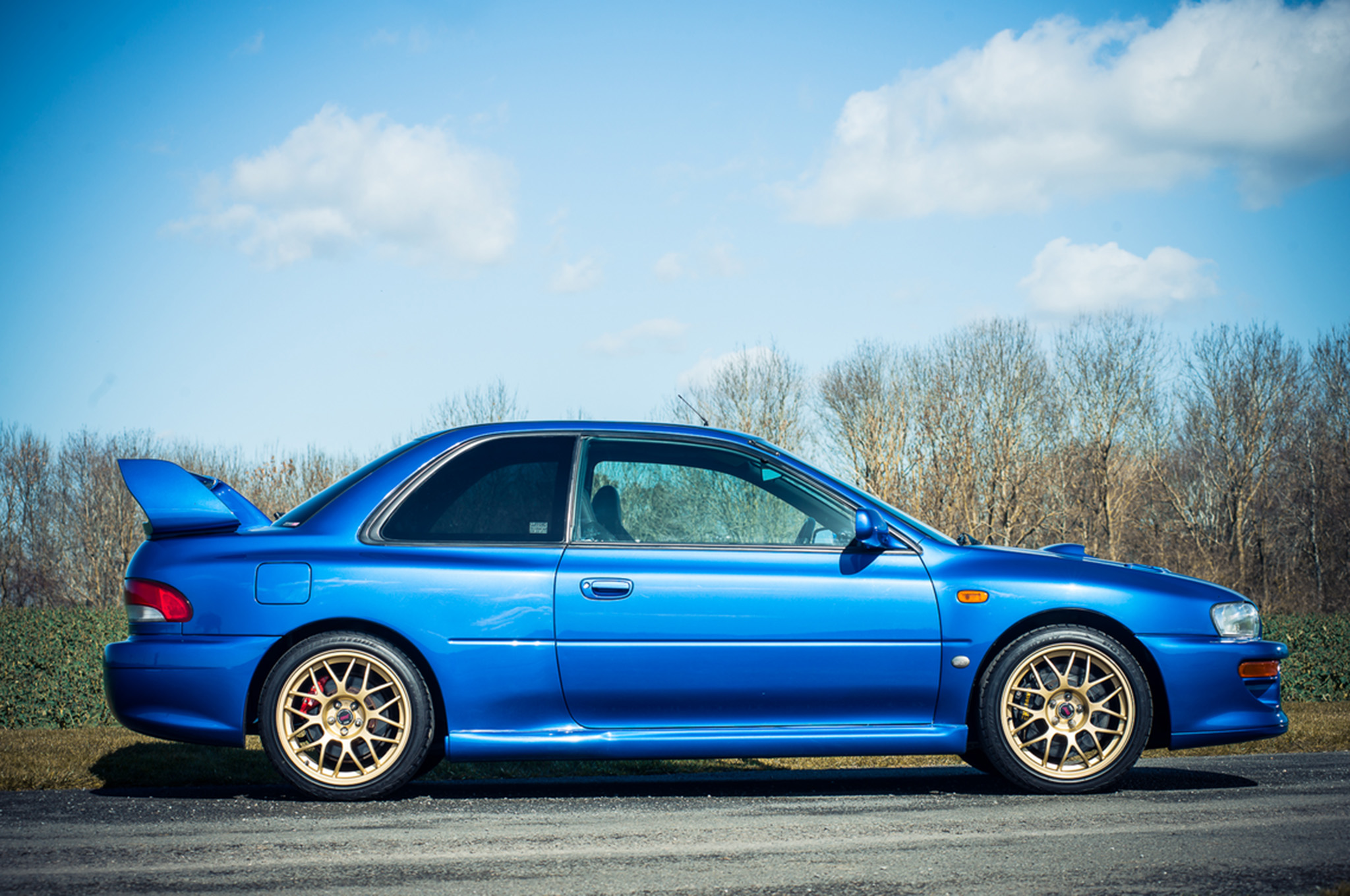 Subaru Impreza 22B STI brzina