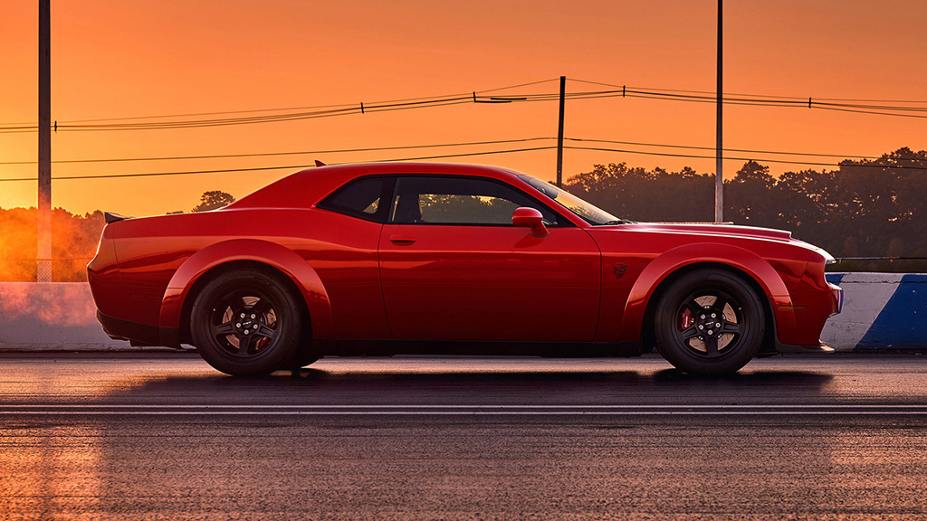 dodge challenger srt demon brzina