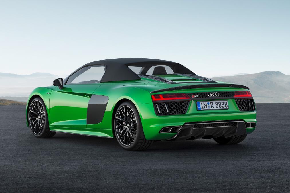 Novi Audi R8 Spyder Plus 2017 cijena hr