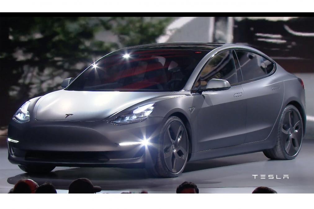 tesla Model 3 snaga