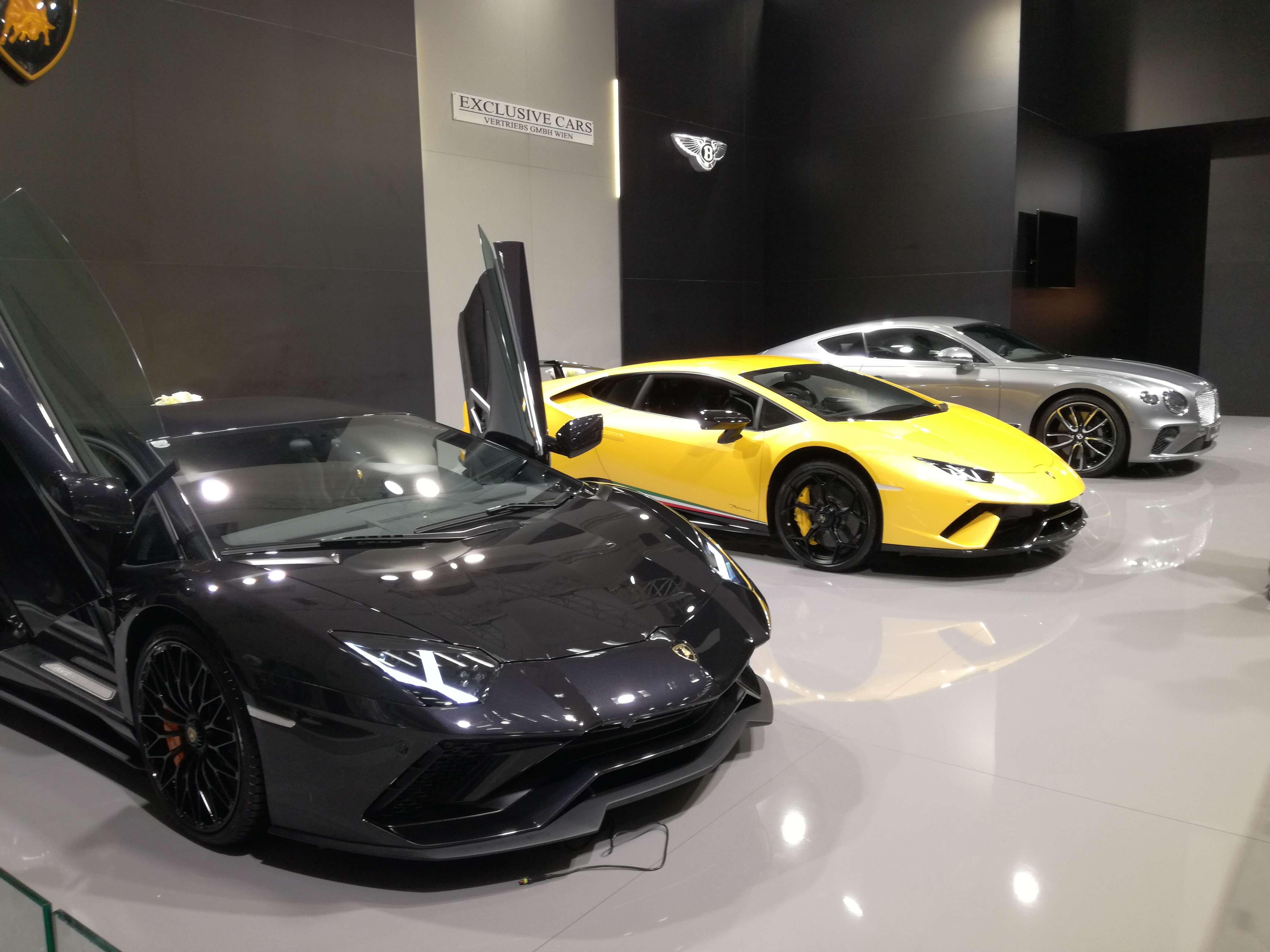 zagreb auto show 2018 lamborghini