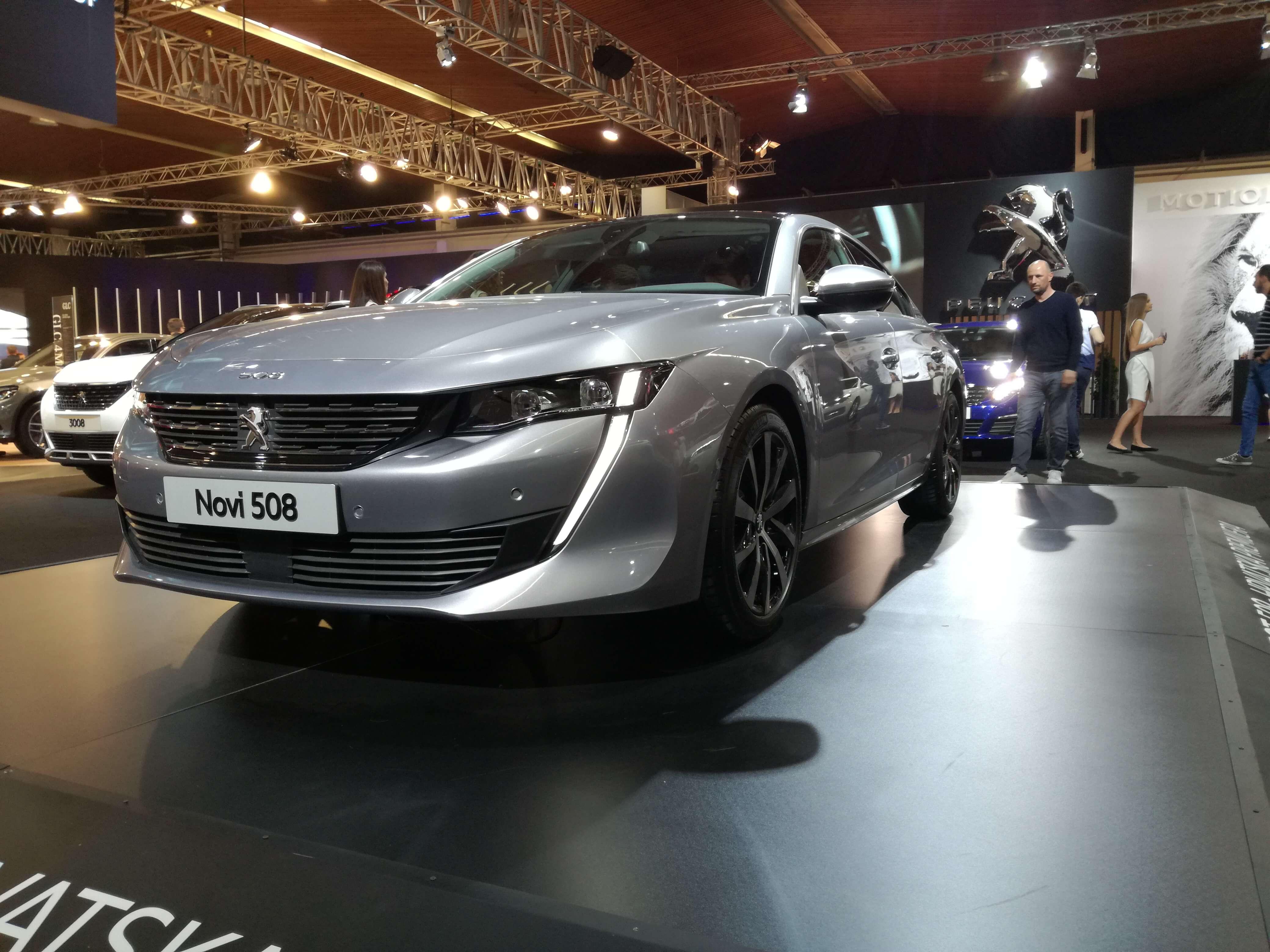 zagreb auto show 2018 peugeot